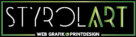Logo Styrolart Webdesign Grafik und Printdesign