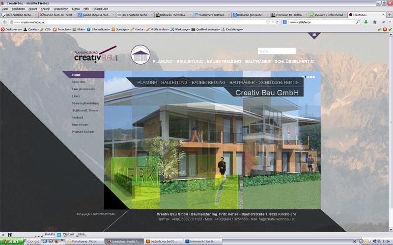 styrolart print- und webdesign - CMS Website Creativbau