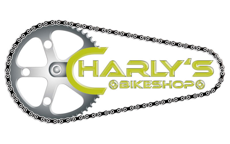 styrolart print- und webdesign - Logo Charlys Bikeshop