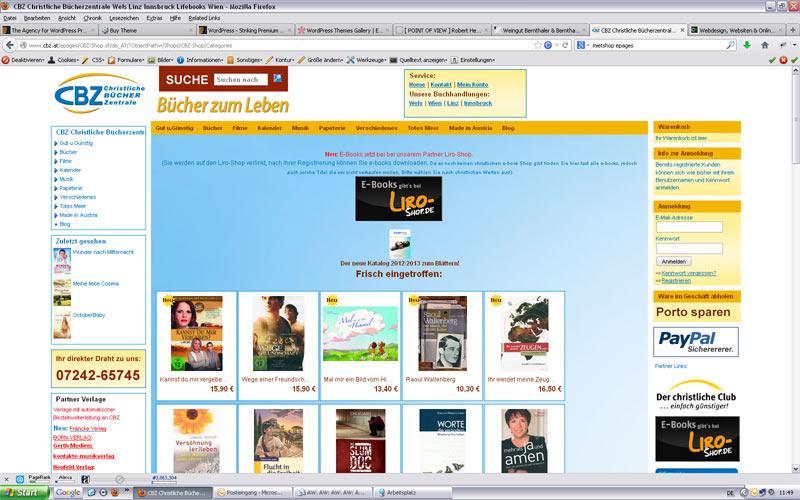 styrolart print- und webdesign - Webshop CBZ Linz