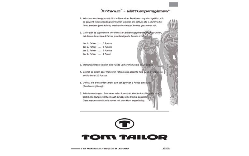 styrolart print- und webdesign - Programmheft RC Wörgl, Fotografie, Plakate